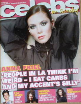 <!--2008-04-20-->Celebs magazine - Anna Friel cover (20 April 2008)