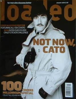 <!--2000-01-->Loaded magazine - Peter Sellers cover (January 2000)