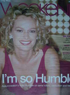 Weekend magazine - Kate Humble cover (25 October 2008)