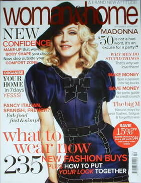 <!--2008-09-->Woman & Home magazine - September 2008 (Madonna cover)