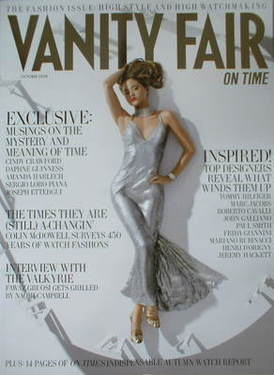 Vanity Fair On Time magazine supplement - Devon Aoki cover (October 2008)