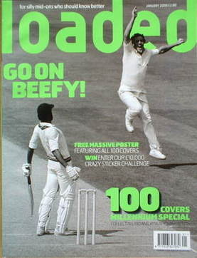 <!--2000-01-->Loaded magazine - Ian Botham cover (January 2000)
