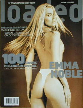 <!--2000-01-->Loaded magazine - Emma Noble cover (January 2000)