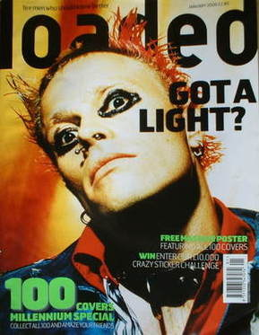 <!--2000-01-->Loaded magazine - Firestarter cover (January 2000)