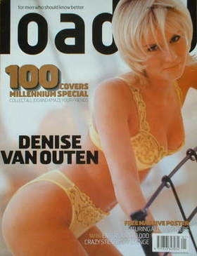 <!--2000-01-->Loaded magazine - Denise Van Outen cover (January 2000)
