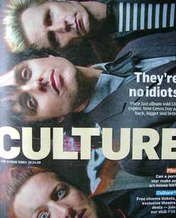 <!--2009-04-26-->Culture magazine - Green Day cover (26 April 2009)