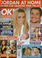 <!--2005-08-02-->OK! magazine - Jordan Katie Price and Peter Andre and Junior cover (2 August 2005 - Issue 480)
