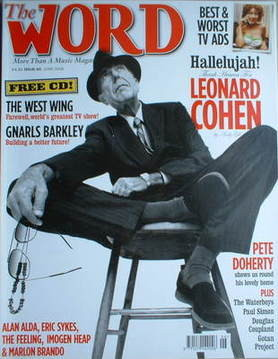 <!--2006-06-->The Word magazine - Leonard Cohen cover (June 2006)