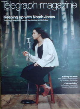 <!--2004-03-27-->Telegraph magazine - Norah Jones cover (27 March 2004)
