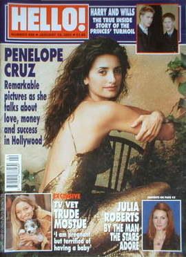 <!--2002-01-29-->Hello! magazine - Penelope Cruz cover (29 January 2002 - I