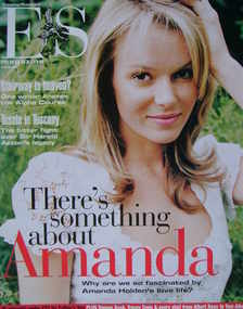 <!--2004-06-18-->Evening Standard magazine - Amanda Holden cover (18 June 2004)