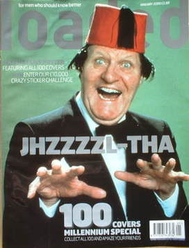 <!--2000-01-->Loaded magazine - Tommy Cooper cover (January 2000)
