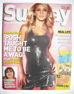 <!--2007-09-30-->Sunday magazine - 30 September 2007 - Melanie Slade cover