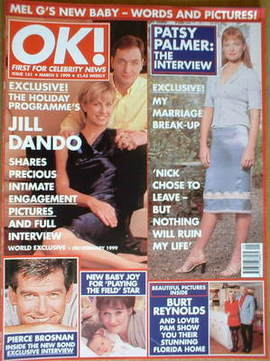 <!--1999-03-05-->OK! magazine - Jill Dando cover (5 March 1999 - Issue 151)