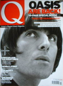 Q magazine - Liam Gallagher cover (October 2008)