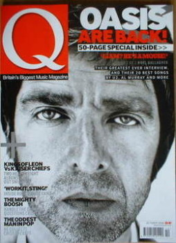 Q magazine - Noel Gallagher cover (October 2008)