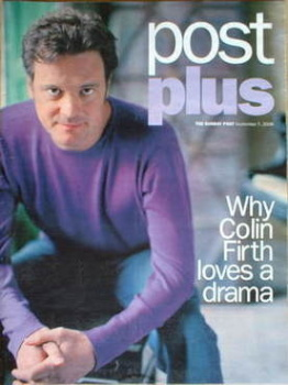 Post Plus magazine - Colin Firth cover (7 September 2008)