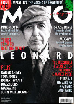 <!--2008-12-->MOJO magazine - Leonard Cohen cover (December 2008)
