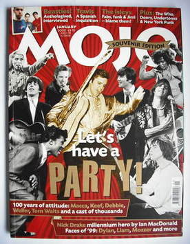 <!--2000-01-->MOJO magazine - Let's Have A Party! cover (January 2000 - Iss