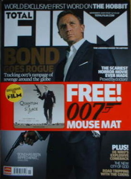 Total Film magazine - Daniel Craig cover (November 2008 - Issue 147)