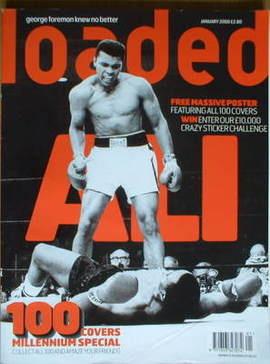<!--2000-01-->Loaded magazine - Muhammad Ali cover (January 2000)
