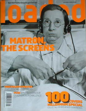 <!--2000-01-->Loaded magazine - Charles Hawtrey cover (January 2000)