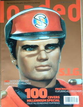 <!--2000-01-->Loaded magazine - Captain Scarlet cover (January 2000)