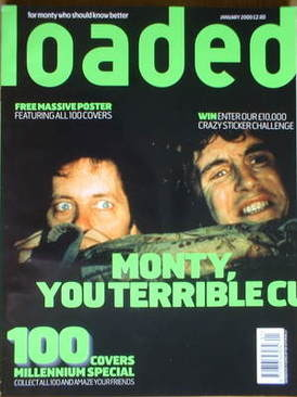 <!--2000-01-->Loaded magazine - Withnail & I cover (January 2000)