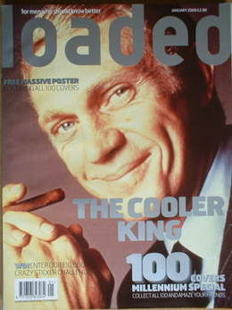 <!--2000-01-->Loaded magazine - Steve McQueen cover (January 2000)