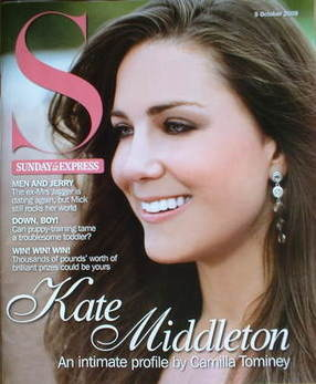 <!--2008-10-05-->Sunday Express magazine - 5 October 2008 - Kate Middleton