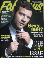 <!--2008-09-14-->Fabulous magazine - Dermot O'Leary cover (14 September 2008)