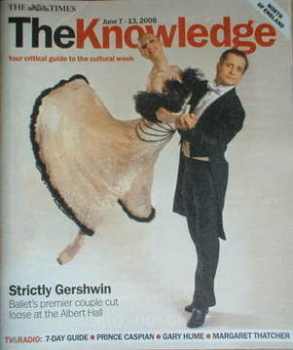 The Knowledge magazine - 7-13 June 2008 - Agnes Oaks and Tomas Edur cover