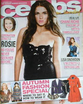 <!--2008-09-21-->Celebs magazine - Helen Flanagan cover (21 September 2008)