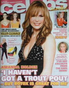 Celebs magazine - Amanda Holden cover (22 June 2008)