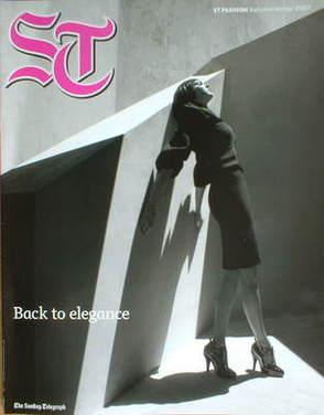 ST Fashion Magazine - Autumn/Winter 2007 - Lily Cole cover