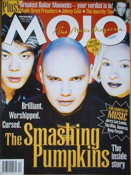 <!--1996-12-->MOJO magazine - The Smashing Pumpkins cover (December 1996 -