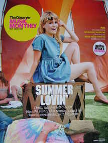 The Observer Music Monthly magazine - May 2008 - Duffy cover
