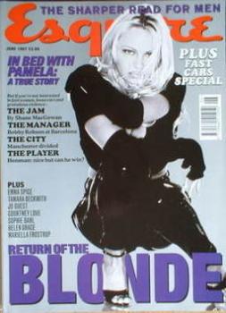 Esquire magazine - Pamela Anderson cover (June 1997)