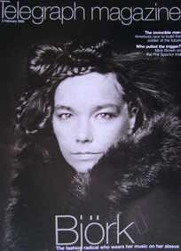 <!--2005-02-05-->Telegraph magazine - Bjork cover (5 February 2005)