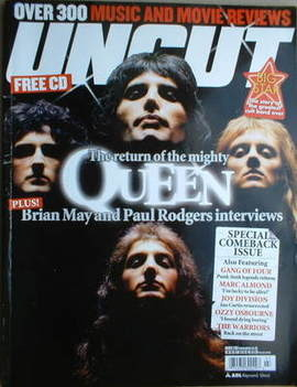 <!--2005-03-->Uncut magazine - Queen cover (March 2005)