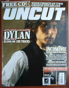 <!--2005-01-->Uncut magazine - Bob Dylan cover (January 2005)