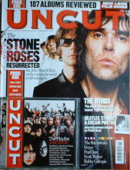 Uncut magazine - The Stone Roses cover (June 2006)
