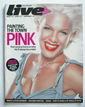 Live magazine - Pink cover (27 August 2006)