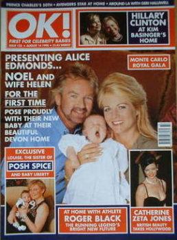 OK! magazine - Noel Edmonds cover (14 August 1998 - Issue 123)