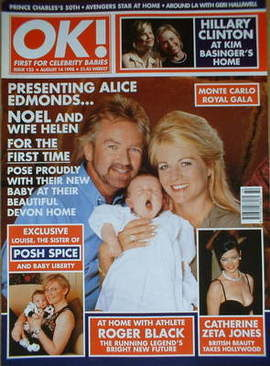 <!--1998-08-14-->OK! magazine - Noel Edmonds cover (14 August 1998 - Issue