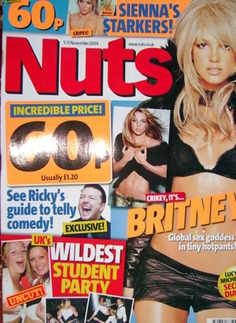 <!--2004-11-05-->Nuts magazine - Britney Spears cover (5-11 November 2004)