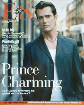 Evening Standard magazine - Rupert Everett cover (20 August 2004)