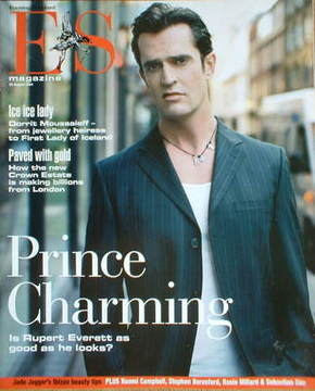 <!--2004-08-20-->Evening Standard magazine - Rupert Everett cover (20 Augus
