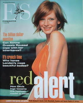 <!--2003-01-17-->Evening Standard magazine - Olivia Inge cover (17 January