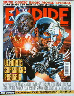 <!--2006-11-->Empire magazine - Ultimate Superhero cover (November 2006 - I